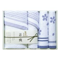 泉織 桜タオルセット No.40 40%OFF