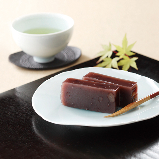 大納言羊羹・銘茶セット No.35
