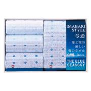 海と空の美しい青のタオルセット No.50