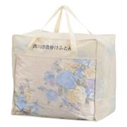 西川 羽毛合掛けふとん1枚 No.300 (サックス)