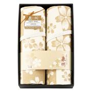 泉州こだわり毛布 肌にやさしい自然色のシルク入り綿毛布(毛羽部分)2P No.500