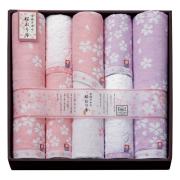【送料無料】桜おり布 タオルセット No.100