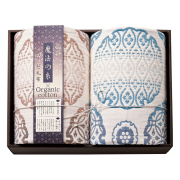 【送料無料】極選魔法の糸×オーガニック プレミアム五重織ガーゼ毛布2P No.300