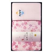 和の色彩 三河木綿 ダブルガーゼ 肌布団 No.100 (ピンク)