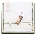 矢野紋織謹製白たおる バスタオル No.35