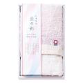 しまなみ匠の彩 花つぼみ フェイスタオル1枚 No.10 (ピンク)