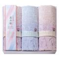 【送料無料】しまなみ匠の彩 花つぼみ フェイスタオル3P No.30