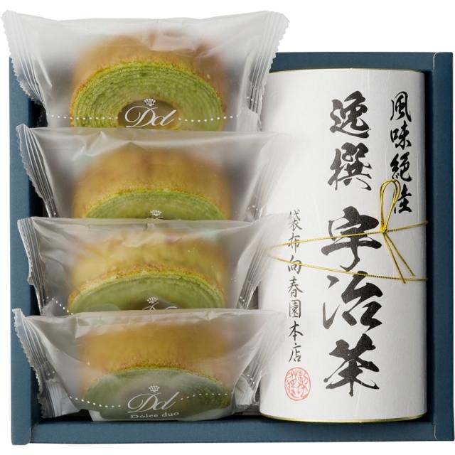 【一括お届け】袋布向春園本店日本茶こだわりセット「楓」 B6053-520