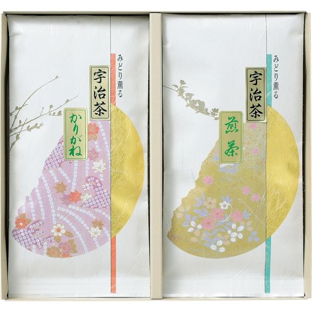 【一括お届け】宇治茶詰合せ(伝承銘茶) B6055-524