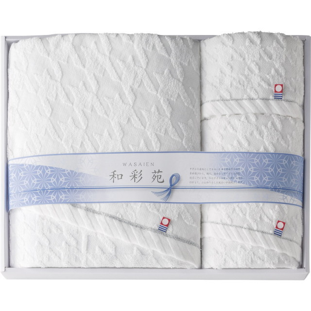 【送料無料】今治製タオル和彩苑タオルセット L5041-554