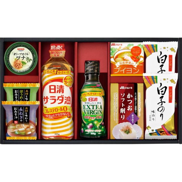 【送料無料】日清オリーブオイル詰合せギフト L5104-546