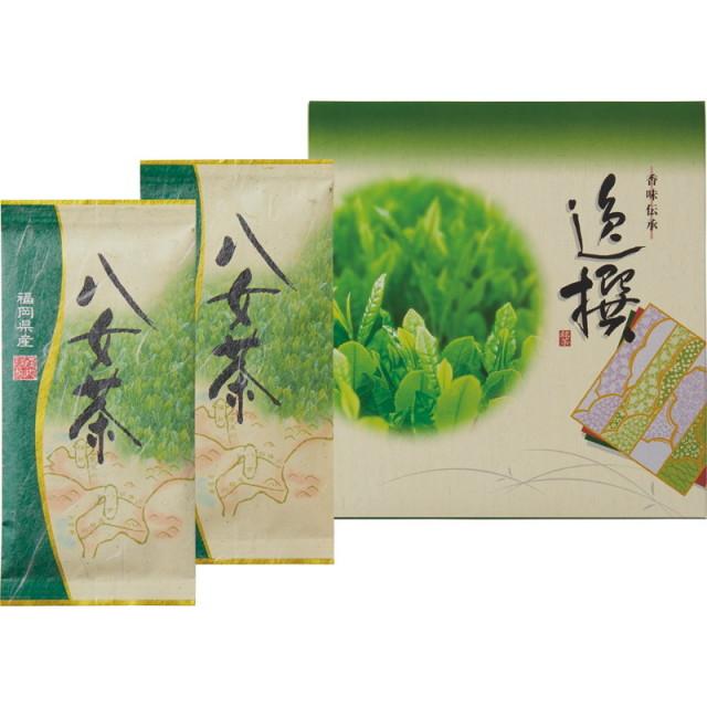 【一括お届け】袋布向春園本店八女茶詰合せ L5134-529