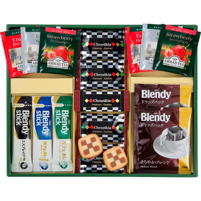 【一括お届け】ブレイクタイムプレミアムギフトクッキー&コーヒー&紅茶 L5143-517