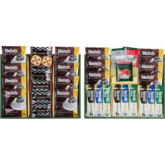 【送料無料】ブレイクタイムプレミアムギフトクッキー&コーヒー&紅茶 L5143-559