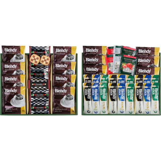 【送料無料】ブレイクタイムプレミアムギフトクッキー&コーヒー&紅茶 L5143-566