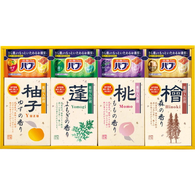 【一括お届け】四季折々 薬用入浴剤セット L5163-540