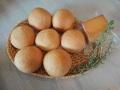 ローズマリーパン7個と燻製チーズのセット