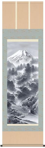 b2-024 富嶽情景 伊藤渓山