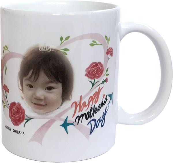 母の日マグカップ