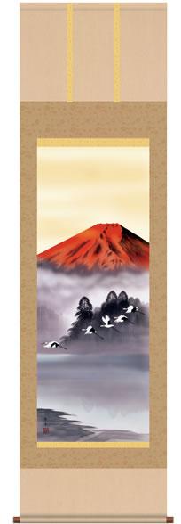 b3-028 赤富士飛鶴 北山歩生