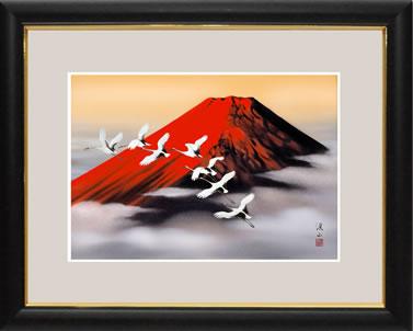 g4-bf006 赤富士 伊藤渓山