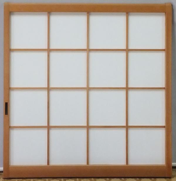 障子張り替え 窓障子 手漉き和紙使用