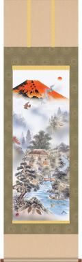 赤富士四神万全図 有馬荘