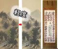 軽度尺五合金襴裂地(奈良蜀江柄 紺)仏表装