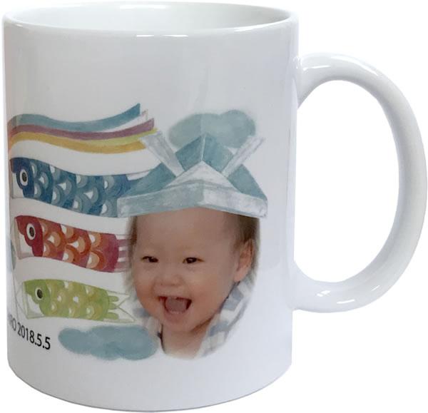 端午の節句マグカップ