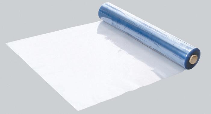 【法人・個人事業主様限定】透明軟ビフィルム 0.4mm厚×915mm幅×30m(N36-051) (5本セット)