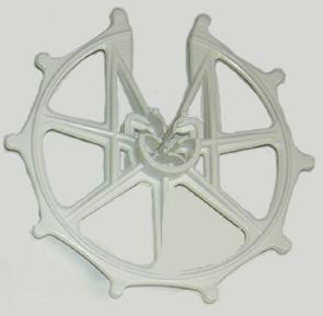スペーサー ドーナツ型 D10-13-16x60N 乳白