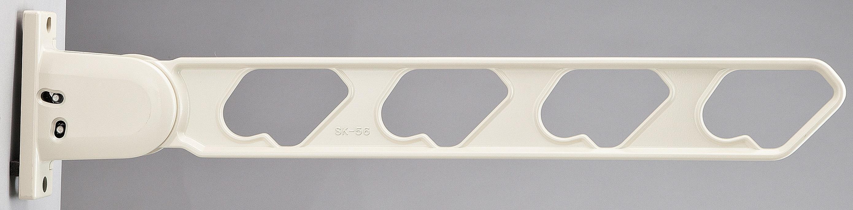 ラチェット式物干金物(窓壁用・下可動型)2個セット SK-56RD