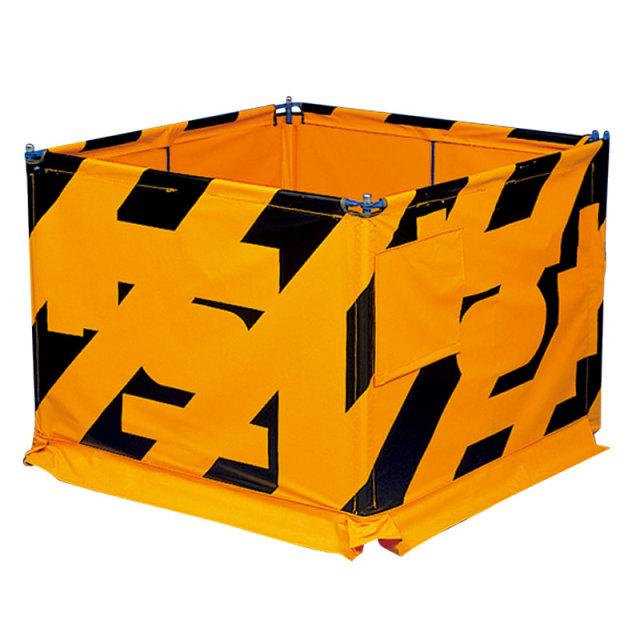 マンホール屏風 4面 風管通し穴付 (384-11)