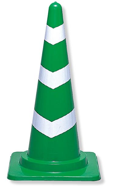 385-08 スコッチコーン 700mmH緑