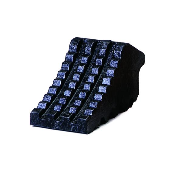 タイヤ歯止め 黒 120×240×130 4069
