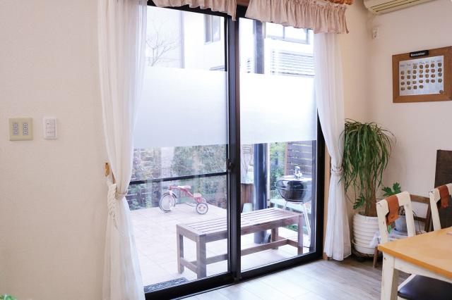 【法人・個人事業主様限定】 飛散防止窓貼りシートすりガラスタイプ (90cm×15m) 51798
