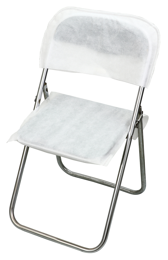 【法人・個人事業主様限定】 使い捨て不織布椅子カバー(10脚分セット) 51921