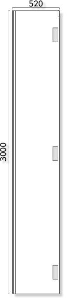 957-121 ◎アドフラット巾調整パネルのみ3M