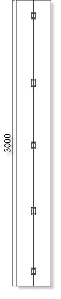 957-132 ◎アドフラットコーナーパネルのみ3M