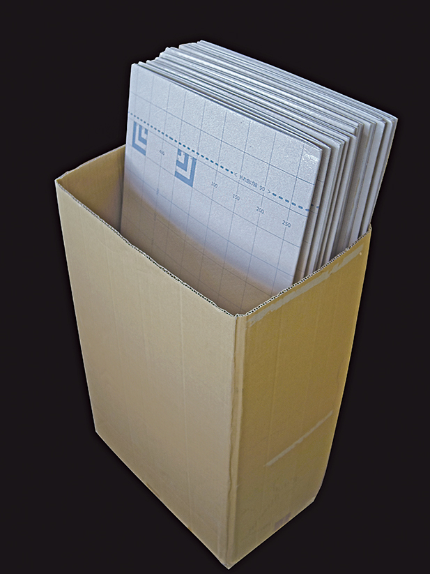 メジャーボード2つ折りタイプ (N17-002) 【50枚セット】