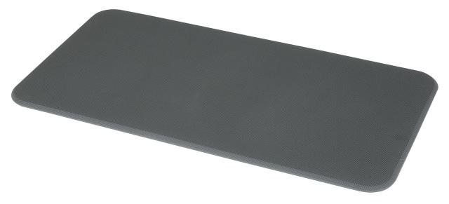 足腰マット ラウンドコーナータイプ 450×900 グレー