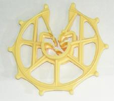 スペーサー ドーナツ型 D10-13-16x40N 黄
