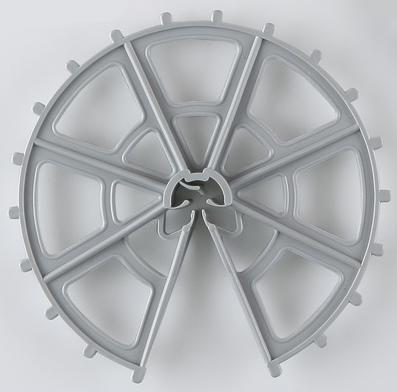 スペーサー ドーナツ型 D10-13-16x60N グレー