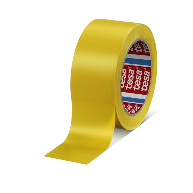 TESA テサ ラインテープ 50mm×33m 黄 4169PV8 KS-TLT-1