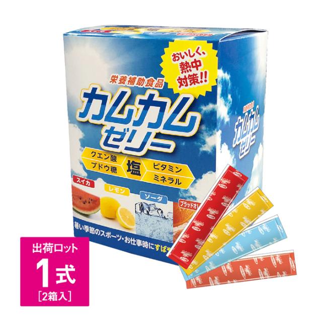 【法人・個人事業主様限定】N20-40 カムカムゼリー [10g×60包入]2箱セット