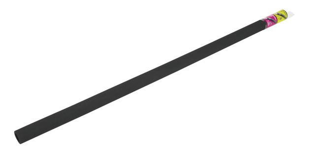 パイプクッション 内径25mm ザラザラ ブラック (PN-02)