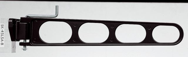 バルコニー物干し金物(横収納型)2個セット SK-45LSA