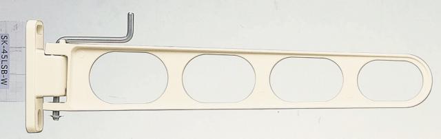 バルコニー物干し金物(横収納型)2個セット SK-45LSB