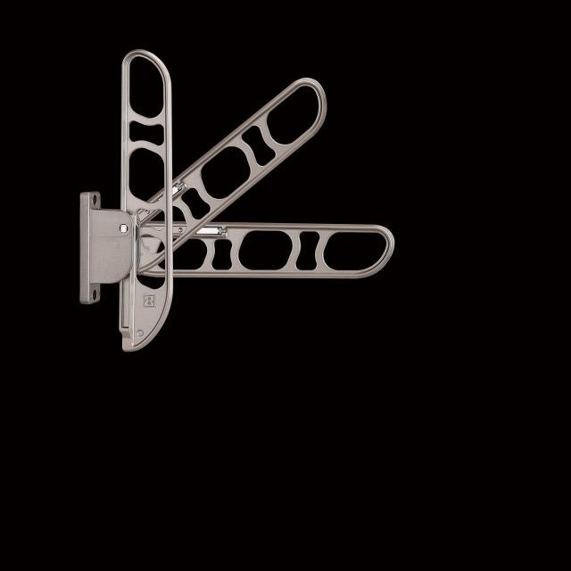 バルコニー物干し金物(縦収納型)2個セット SK-46TMS