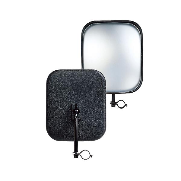 サイドサポートミラー角 150×175 黒 SR-10K